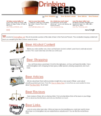 DrinkingBeer.net Screenshot